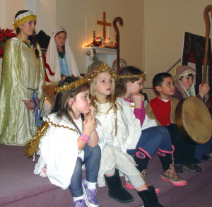 Christmas Pageant Little White Church Eaton NH