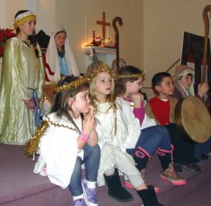 Christmas Pageant Little White Church Eaton NH